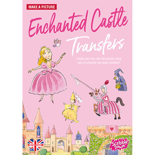 playwell scribble down transfers enchanted castle