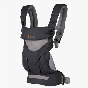 ergo baby omni 360 carrier - cool air mesh carbon grey