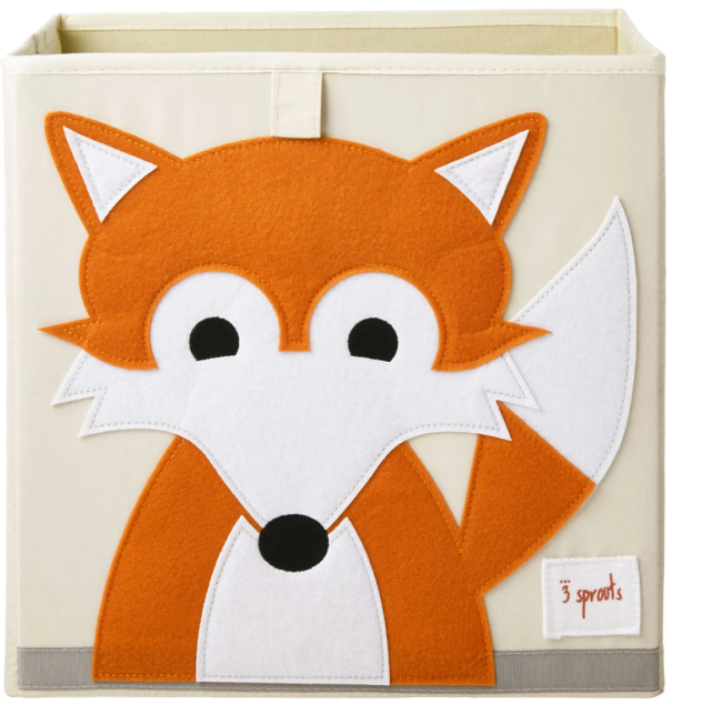 3 sprouts fox storage box