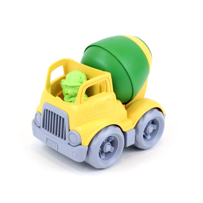 green toys construction truck - mixer
