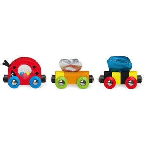hape toys lucky ladybug and friends train