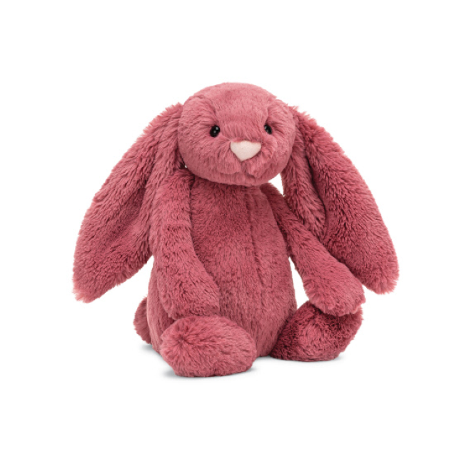 jellycat bashful dusty pink bunny - medium