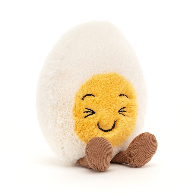 jellycat amuseables boiled egg laughing - small