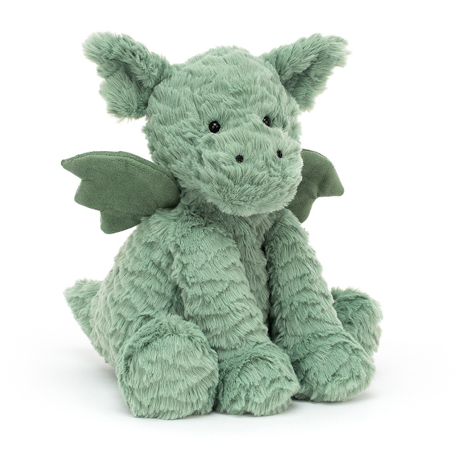 jellycat fuddlewuddle dragon - medium