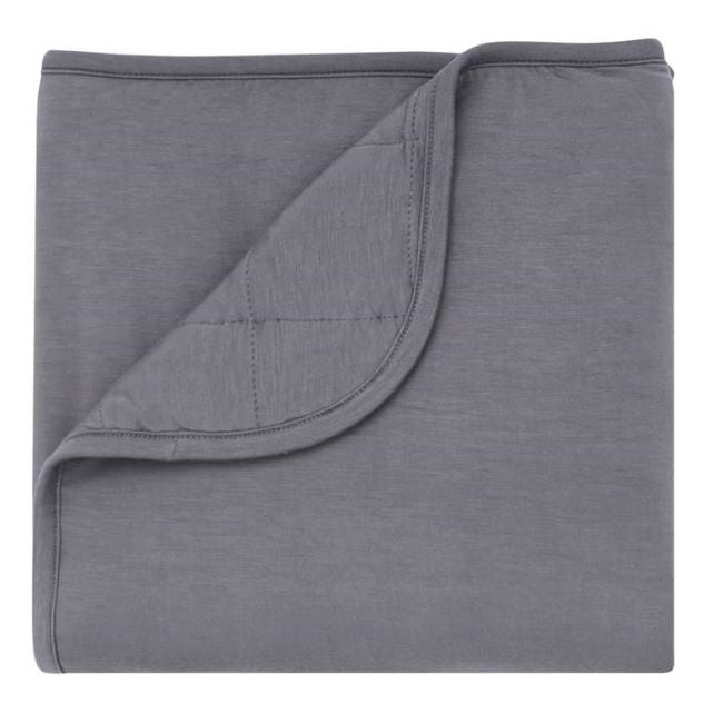 Kyte Baby baby blanket in charcoal