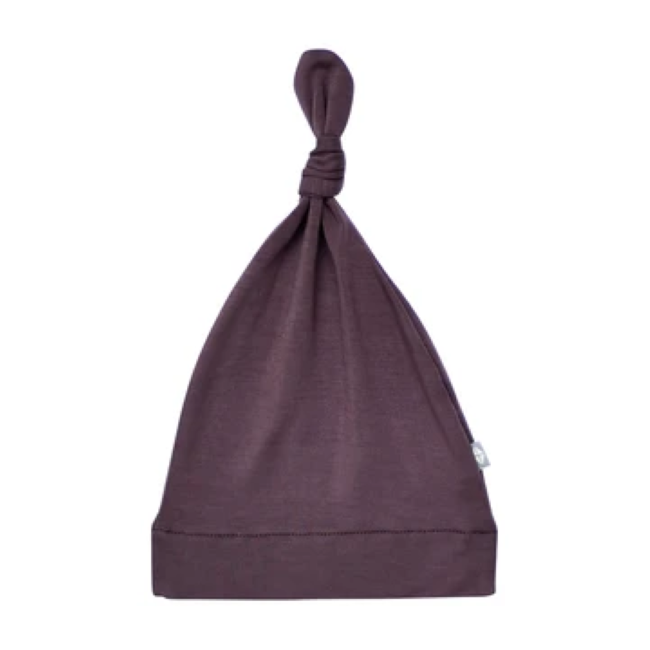 kyte baby knotted cap - cocoa