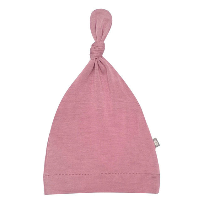 kyte baby knotted cap - mulberry