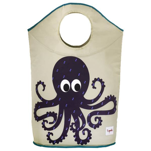 3 sprouts laundry hamper - octopus