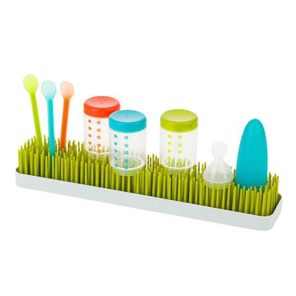 boon patch drying rack - spring green