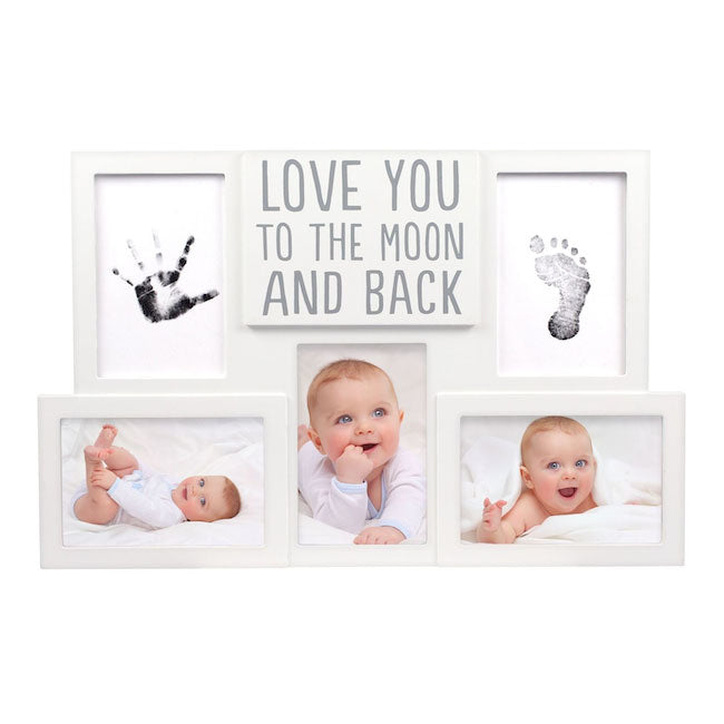 pearhead love you to the moon and back photo collage frame