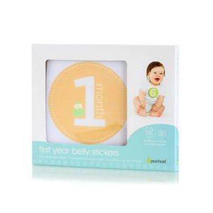 pearhead first year belly stickers - neutral