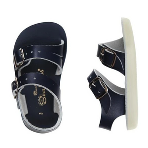 saltwater sandals sea wees infant sandal - navy blue