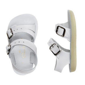 saltwater sandals sea wees infant sandal - white