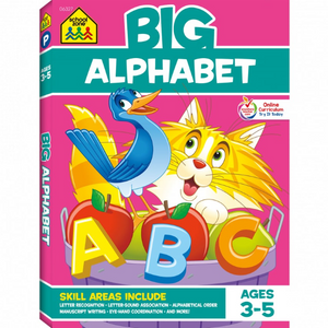 school zone big alphabet book ages 3-5