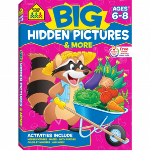 school zone big hidden pictures ages 6-8