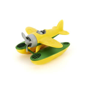 green toys sea plane yellow wings