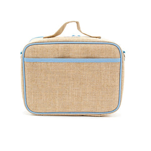 soyoung raw linen lunch box - curious cats