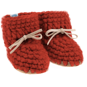 beba bean sweater moccs - spice