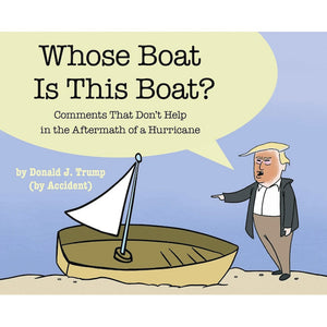 staff of the late show with stephen colbert; who's boat is this boat? paperback book