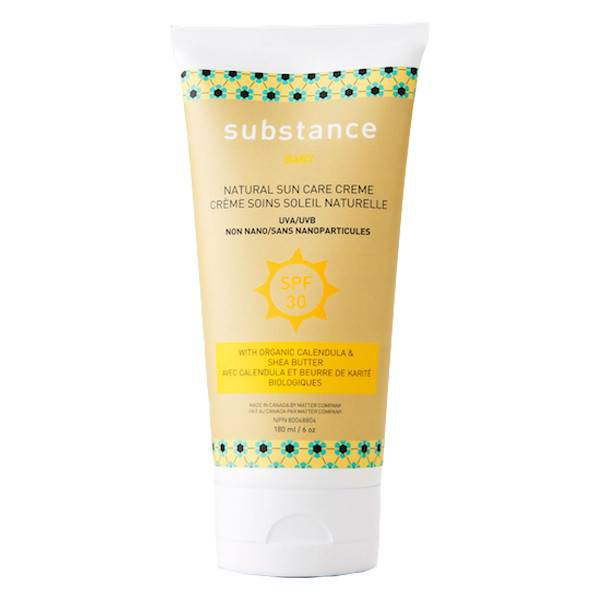 matter company substance SPF 30 baby suncare creme sunscreen 180ml (6oz)