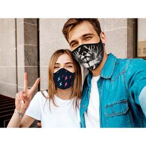 top trenz large adult mask - blue camo