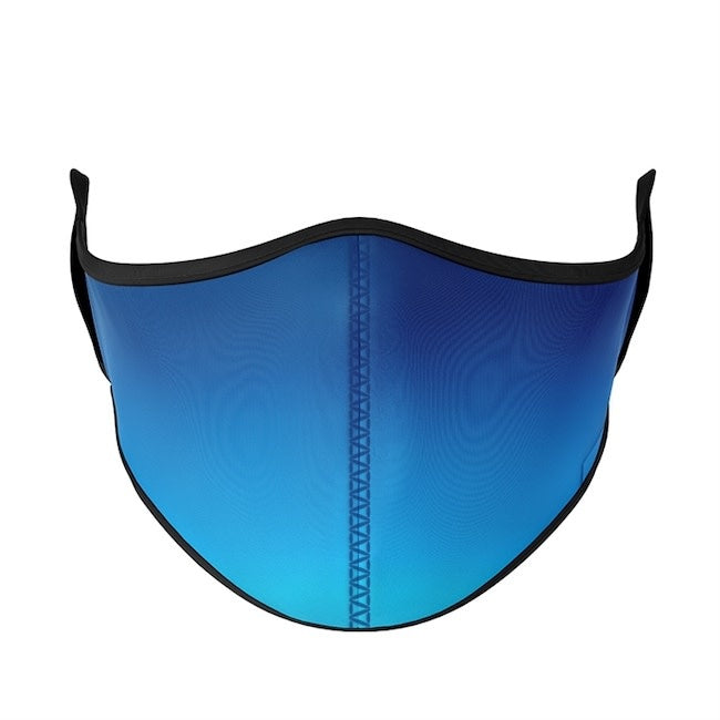 top trenz medium 8 years+ youth/adult mask - blue ombre