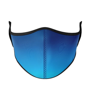 top trenz large adult mask - blue ombre
