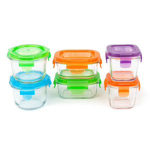wean green baby feeding starter set 6pk