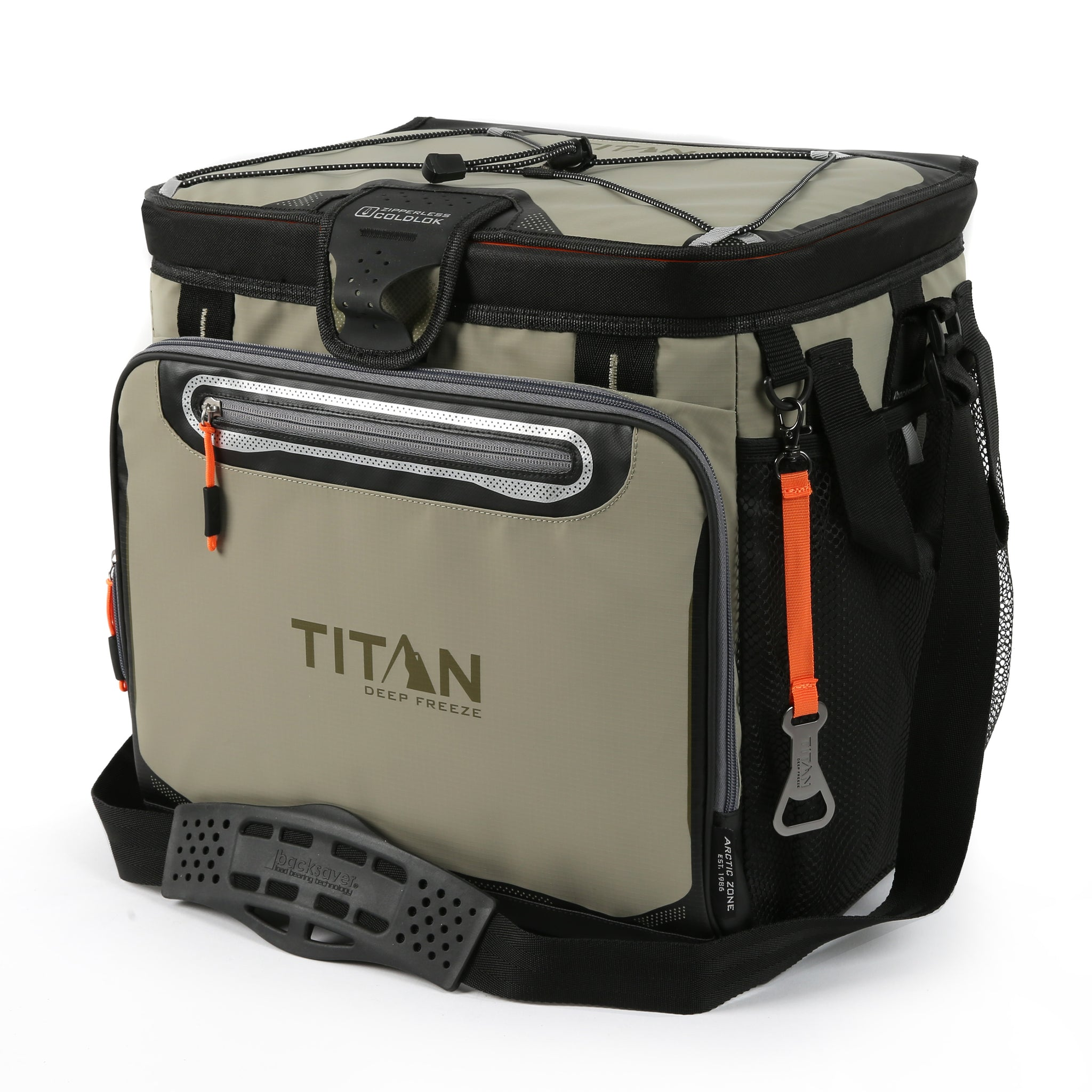 Titan Deep Freeze 40 Can Tall Zipperless Hardbody Cooler