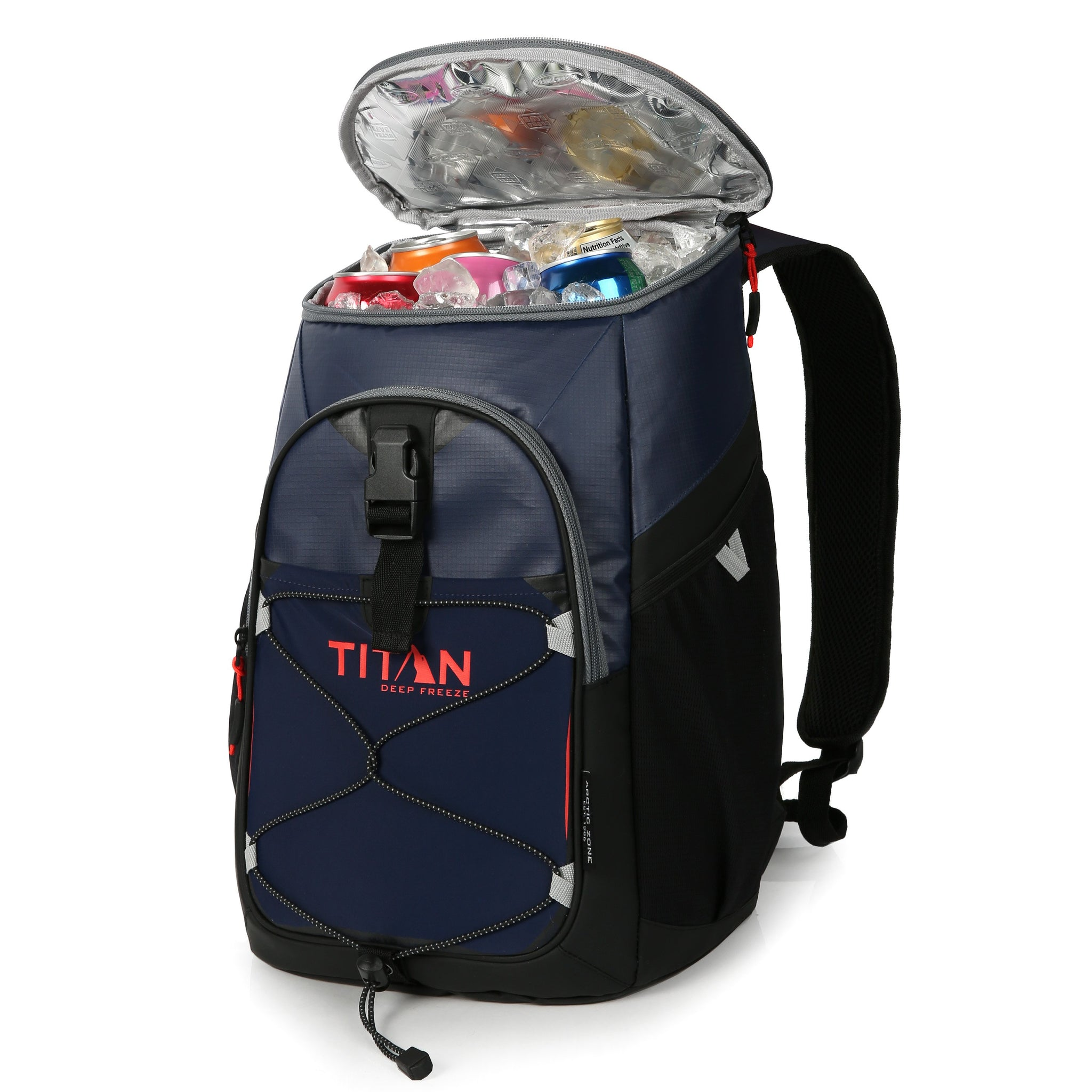 Titan Deep Freeze 24 Can Backpack Cooler(ブルー)