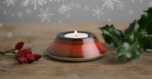 Christmas at Louis Mulcahy Pottery