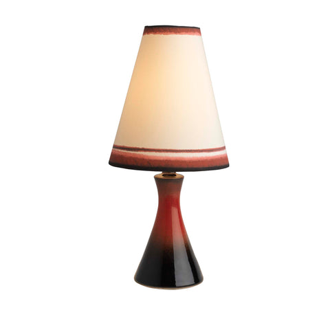 Small Straight Conical Lamp and Cone Shade (7405)