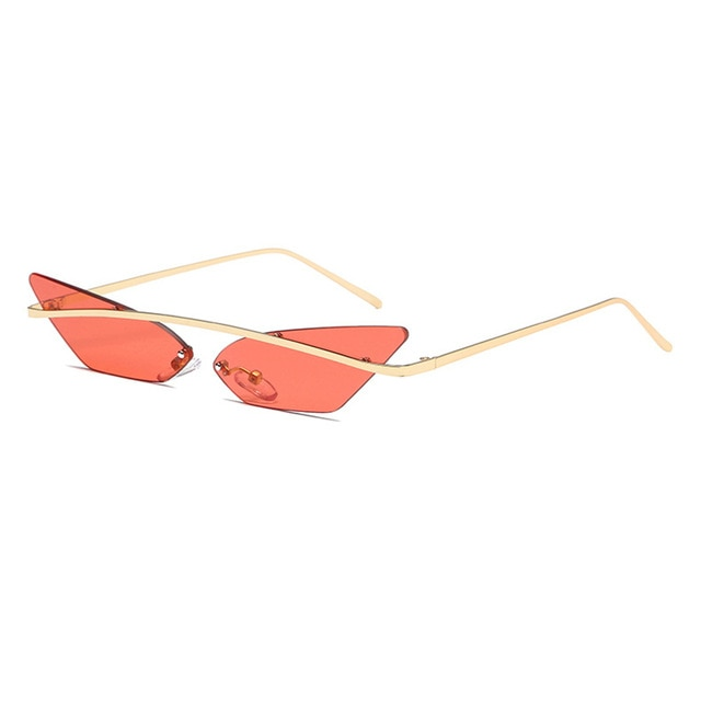 It's A Vybe Sunglasses - Red Orange