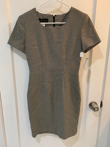 90's Vintage Houndstooth Dress