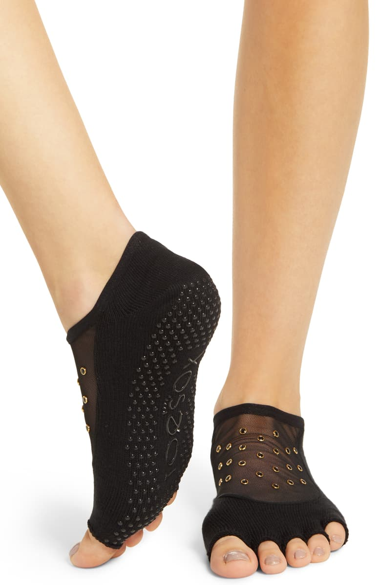Toe Sox Luna Sheer with Studs