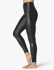 Beyond Yoga Pearlized Midi Leggings