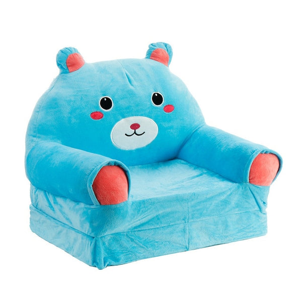 Children Foldbale Sofa - Baby Tatami Sofa Plush - Kids Toy Cartoon Sofa Seat - Birthday Gifts For Girls