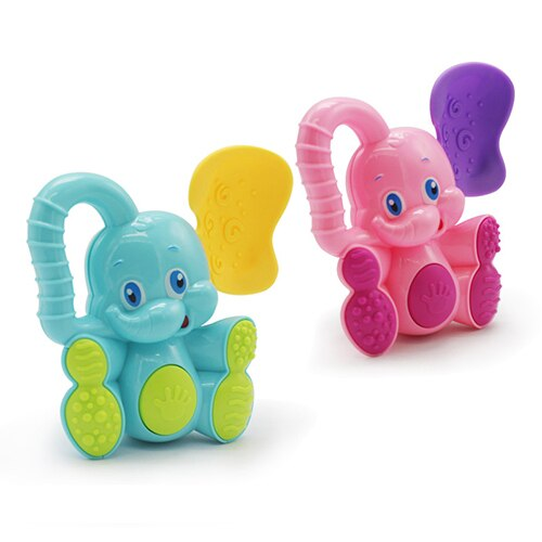 1pc Elephant Deer Baby Rattles - Kids Educational Toys - Children Newborns Mobile - Crib Stroller Stuffs Plastic Toy