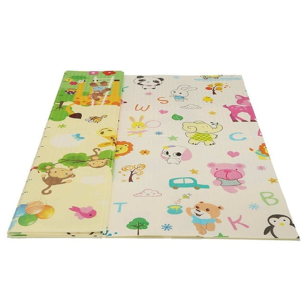 Baby Play Mat Waterproof XPE Soft Floor Playmat Foldable Crawling Carpet