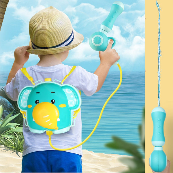 Outdoor Water Elephant Backpack Water Gun Bathroom Bathing Capacity Long-Distance Range