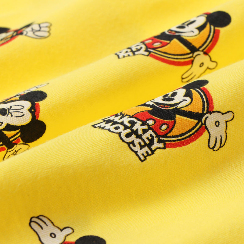 Disney Mickey Jr. Boys All Over Graphic Tee in Yellow