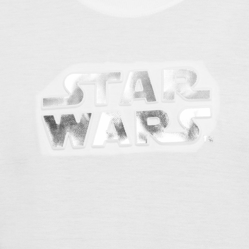 Star Wars Boys Teens' Foil Embossed Star Wars Tee in White