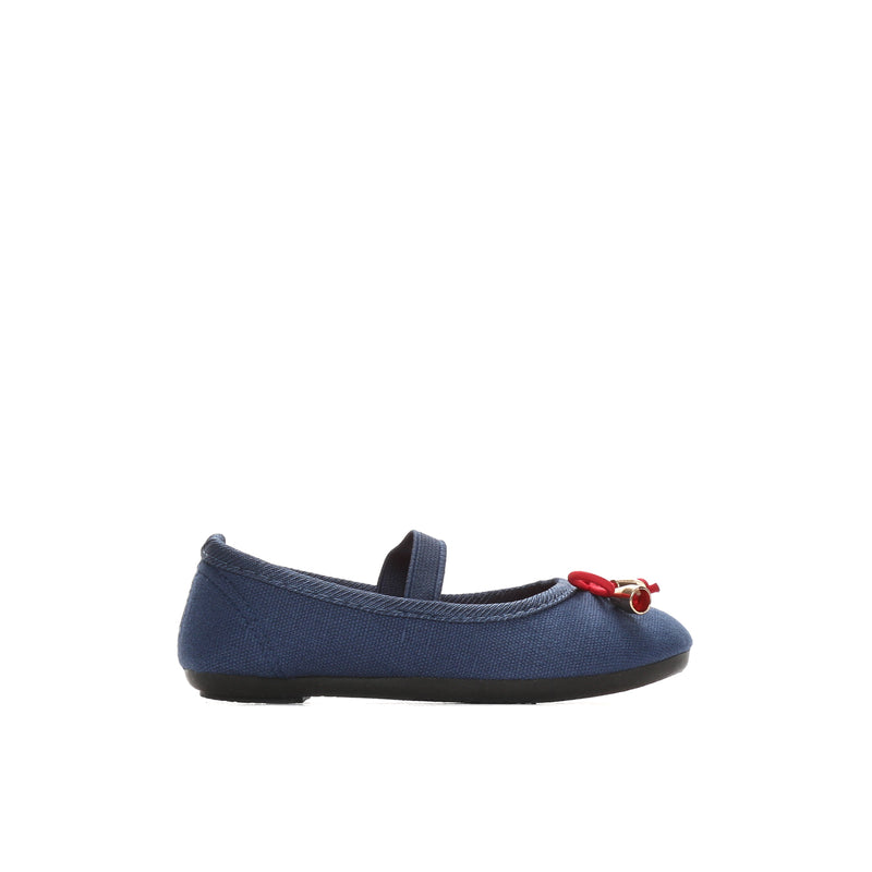 Sugar Kids Girls Eloisa Mary Jane Flats in Navy Blue