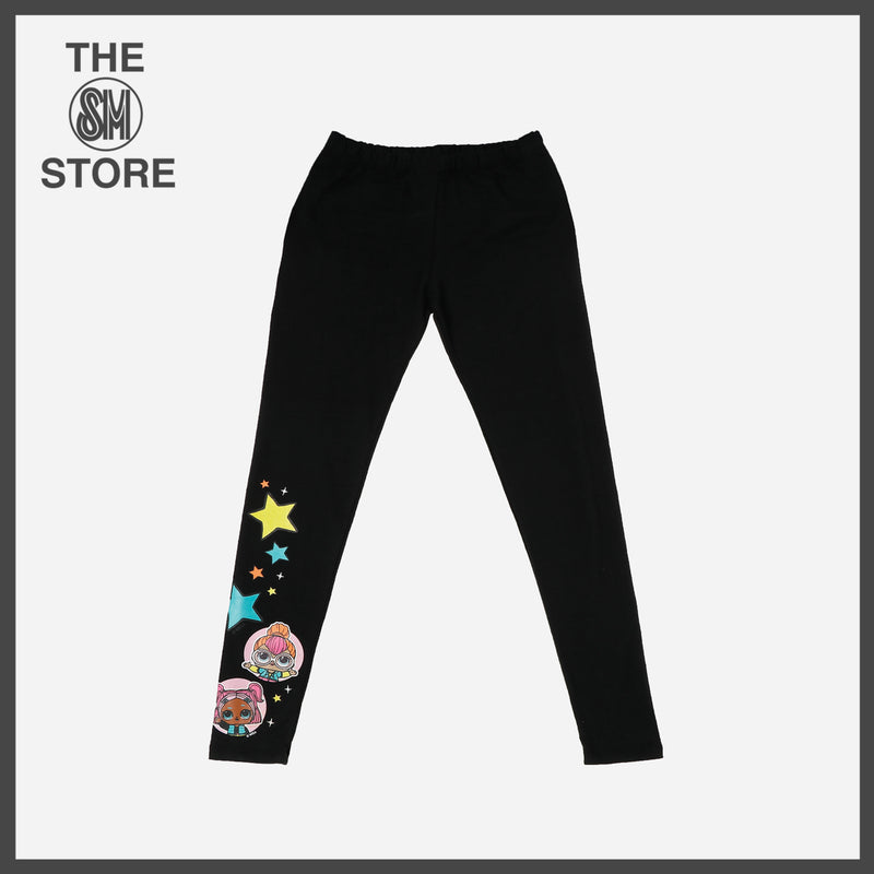 LOL Surprise Girls' Star Leggings in Black