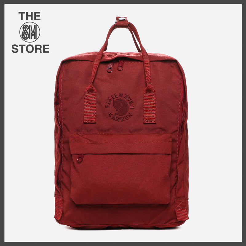 Fjallraven Re-Kanken Backpack in Ox Red