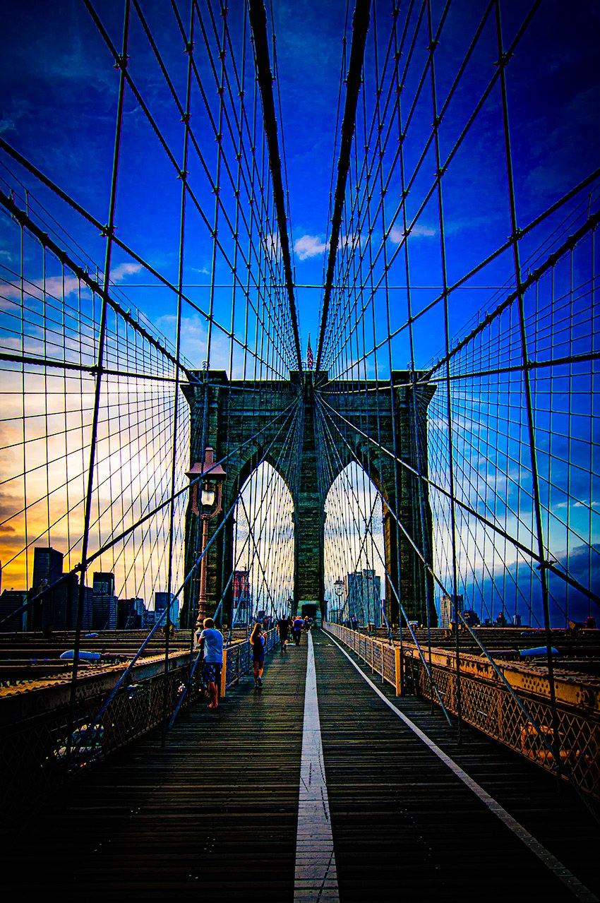 Brooklyn Bridge - Sunset