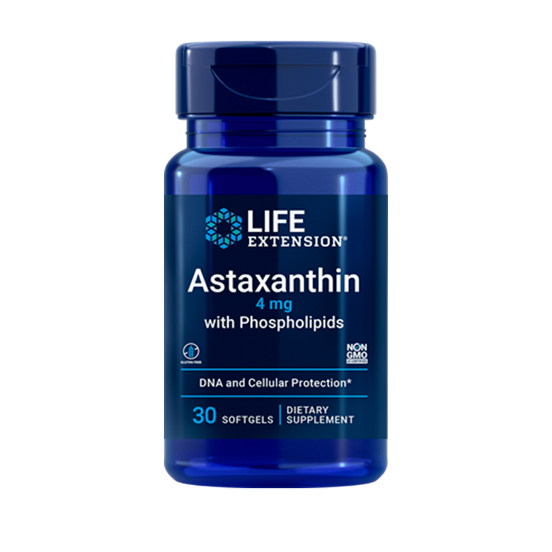 Astaxanthin 4 mg with Phospholipids 30 softgels