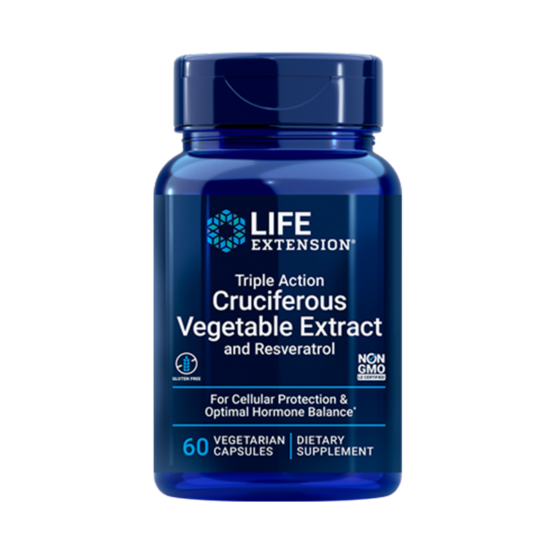 Cruciferous Vegetable Extract with Resveratrol  60 Caps