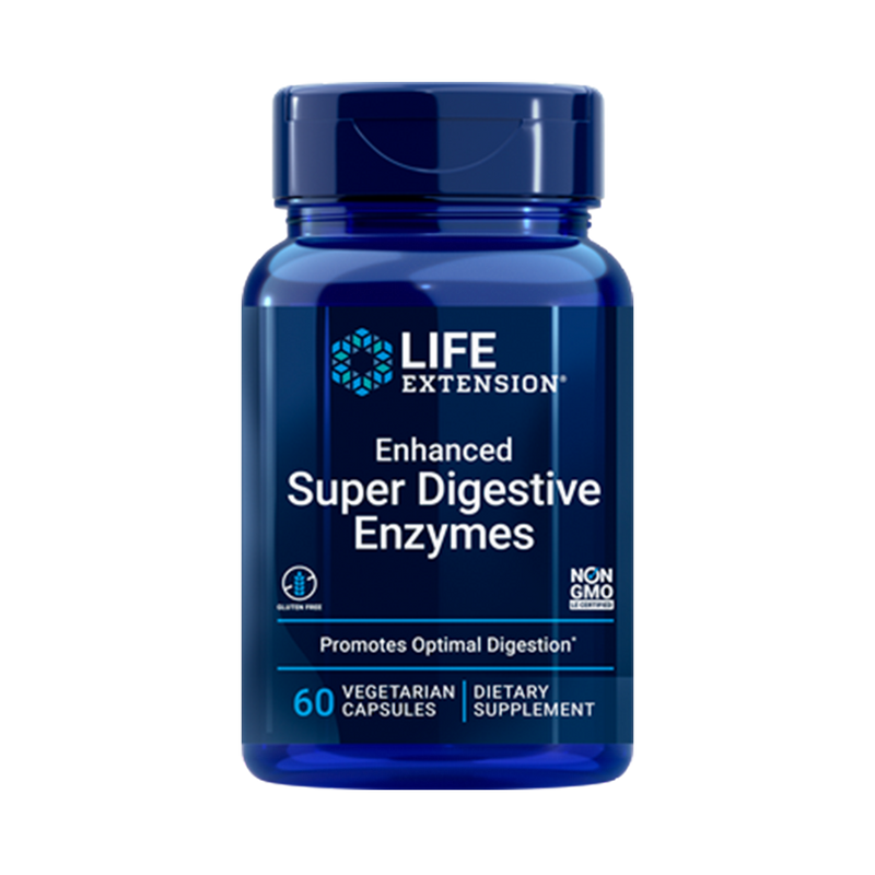 Enhanced super digestive enzymes 60 caps