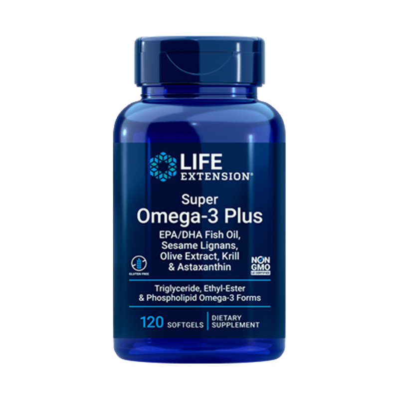 Super Omega-3 Plus EPA/DHA with Krill & Astaxanthin 120 softgels